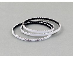 Radtec Low Friction White Front Drive Belt (S3M507) for Stock (BD8*34T) (BEL-10001)