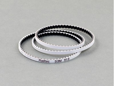 Radtec Low Friction White Front Drive Belt (S3M516) for Stock (BD8SV/Destiny) (BEL-10004)