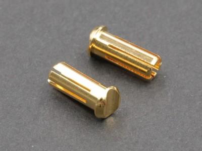 5mm Bullet Connector (LCG), 2 pcs (EA-10010)