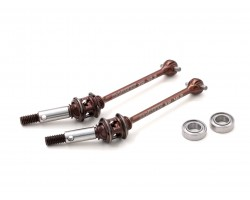 "T4 51mm ""PREMIUM"" Steel Double Joint Drive Shaft Set, Front (XR-10033)"